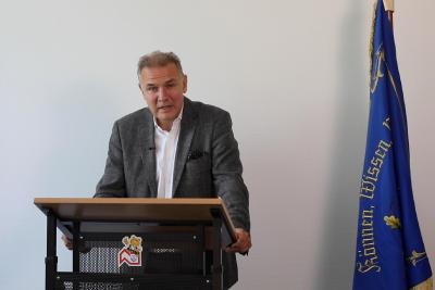 Landesinnungsmeister Jörg-Dieter Mann