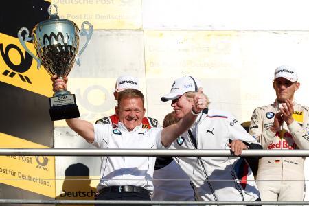 Stefan Reinhold, BMW Team RMG, Hockenheim, Podium