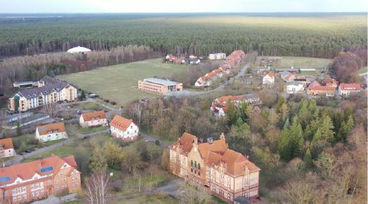 Campus der Theologischen Hochschule Friedensau © Matheus Volanin/Friedensau Media