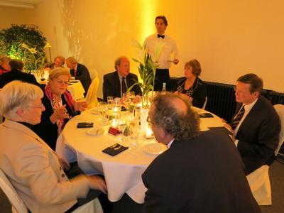 (v.l.n.r.): Helga Schuchardt, Frau Fip, Hans-Jürgen Fip, Frau Mielenhausen, Prof. Dr. Mielenhausen, Prof. Dr. Kampmann