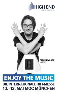 Der britische Ausnahmemusiker Steven Wilson ist Markenbotschafter der HIGH END 2019