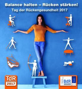 """Am 15. März 2017 findet der 16. Tag der Rückengesundheit statt. Unter dem Motto """"Balance halten – Rücken stärken!"""" werden bundesweit zahlreiche Veranstaltungen, Aktionen und Workshops angeboten (Bild: AGR e. V. / Yuri Arcurs.)"""