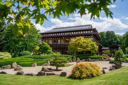 Der Japanische Garten in Bad Langensalza ist ein Außenstandort der BUGA 2021. Copyright: © Bildarchiv BUGA 2021 Erfurt gGmbH