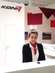InterpretMessehostess INNOTRANS2014.FürKoni