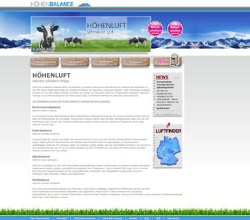 Der neue Internetauftritt von www.hoehenbalance ist online