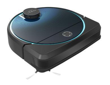 Sichler Exclusive Multiroom-Saug- und Wisch-Roboter PCR-8900.app mit WLAN, App und 8 Reinigungs-Modi