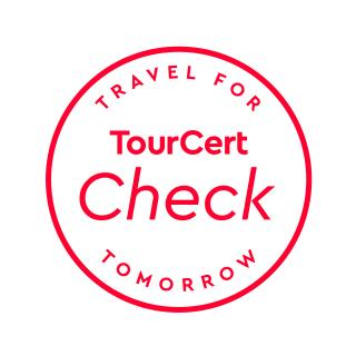 Auszeichnung TourCert Check
