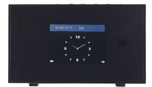 ZX 1687 01 VR Radio Digitaler WLAN HiFi Tuner mit Internetradio