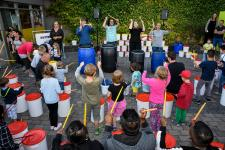 Livebands und Trommelworkshop beim 4. Music Day in Kernie's Familienpark