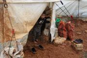 Vor allem die Kinder leiden unter der Situation in den Flüchtlingscamps. Hilfsorganisationen wie action medeor versuchen nun, schnelle Hilfe zu organisieren / © Foto: Orient for Human Relief / action medeor