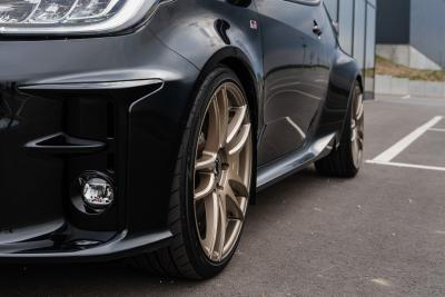 Barracuda Racing Wheels Europe: Shoxx-Felgen am japanischen Kampfzwerg Toyota GR Yaris