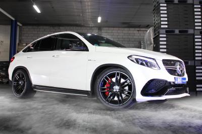 "Hamann 22"" wheels on the Mercedes-AMG GLE 63 Coupé"