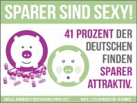 Sparer haben Sexappeal