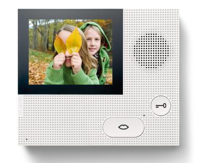 """Bunte Aussichten vor der Haustür: Die preisgünstige Video-Innenstation Basic besticht durch Siedle-Qualität """"made in Germany"""""""