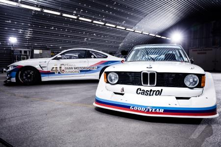 Fotoshooting, BMW 320 Gr.5, BMW M4 GT4