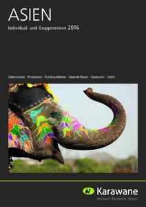 Asien-Katalog 2016 von Karawane
