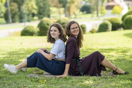 Anja und Mona Birgit Machtinger, Foto: © Birgit Machtinger