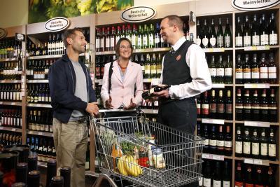 Weinabteilungen im Handel ausgezeichnet