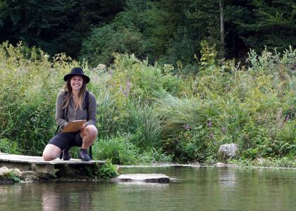 Naturpark-Rangerin
