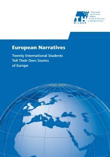 """Die Publikation """"European Narratives"""" der Technischen Wildau unternimmt den Versuch, dem """"Projekt Europa"""" aus der Sicht junger Menschen neue Perspektiven zu verleihen / Foto: TH / Marketing"""