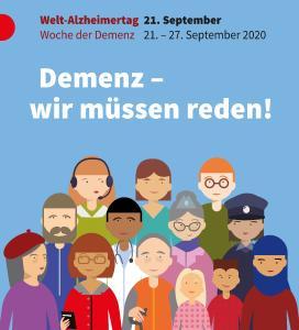 Plakatmotiv zum Welt-Alzheimertag 2020