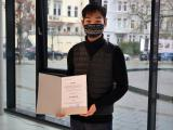 DAAD-Preisträger Sung-Ho Jo; Quelle: Muthesius Kunsthochschule/Anja Segschneider