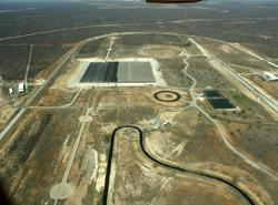 Neue Fahrdynamikfläche auf dem Continental-Testgelände in Uvalde / Texas eingeweiht