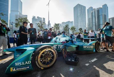 Formel E, MS&AD Andretti, Kamui Kobayashi, Hongkong