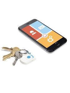 Der SOS Notruf-Button fürs Smartphone lässt sich praktisch am Schlüsselbund befestigen