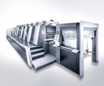 An example of investing into machinery: Heidelberg Speedmaster XL 106-8-P 18K (Copyright: Heidelberger Druckmaschinen AG)