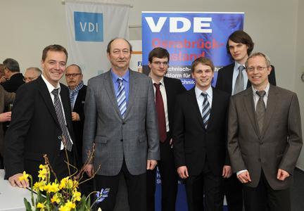Mit ausgezeichneten Abschlussarbeiten sorgt der wissenschaftliche Nachwuchs der Hochschule Osnabrück für Innovationen auf dem technischen Markt / VDI und VDE zeichnen in jedem Jahr heraus ragende Bachelor- und Masterabsolventen aus (Foto: Hermann Pentermann)