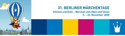 Das Banner der 31. Berliner Märchentage