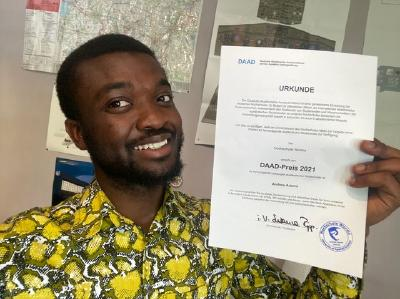 """Andrew Adams hat zusammen mit dem Fachbereich Touristik/Verkehrswesen der Hochschule Worms das Projekt """"Aviation Management For Ghana"""" (AVM4G) ins Leben gerufen / Foto / Andrew Adams"""