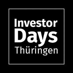 Boost your Deal Flow mit den Investor Days Thüringen!