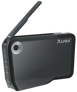 7Links NAS-Server & WLAN-Festplatte NFP-500.AP mit AccessPoint, USB2.0