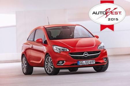 """Unschlagbar: Der neue Opel Corsa setzte sich gegen starke Konkurrenz durch und wurde zum """"Best Buy Car of Europe for 2015"""" gekürt. Somit setzt die neue Generation den Erfolg ihres Vorgängers fort, der vor sieben Jahren von AUTOBEST ausgezeichnet wurde"""