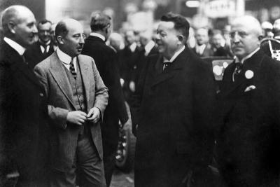 1924 Friedrich Ebert mit Wilhelm und Heinrich