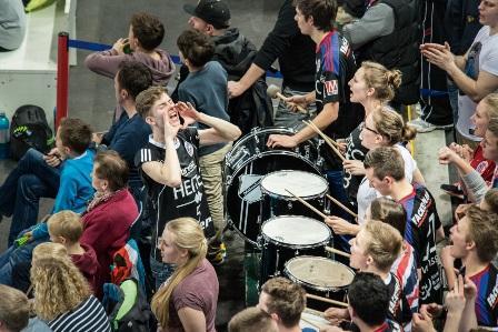 (Foto: hl-studios, Erlangen): HC Erlangen:Handball-Bundesliga in der Arena Nürnberger Versicherung