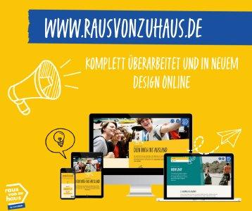 Relaunch www.rausvonzuhaus.de