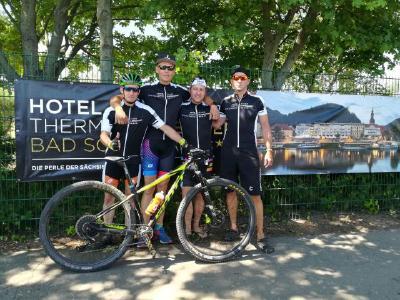 Team Elbresidenz mit Michael Schulze, Nico Pflüger, Silvio Becher und Andreas Berger (v.l.) | Foto: Rico Lasseck