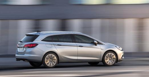 Der neue Opel Astra Sports Tourer: Komfortabel, praktisch, pfiffig / Foto: Adam Opel AG