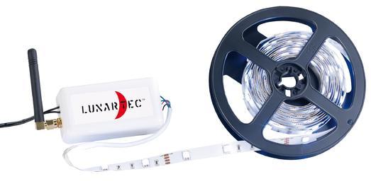 Lunartec WLAN-Adapter fuer Smartphone-Fernsteuerung von LED-Streifen. Bild: PEARL.GmbH