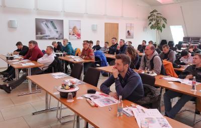 Informationen rund um die Velux-Produkte gab es für den Dachdecker-Nachwuchs