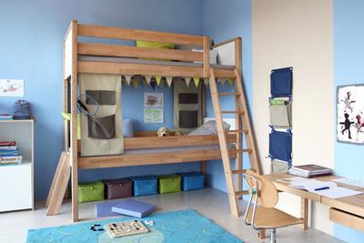 geht doch zeigt clevere l sung f r hochbett f r zwei de breuyn m bel gmbh. Black Bedroom Furniture Sets. Home Design Ideas