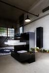 Black On-Trend Bathroom for (Real) Men