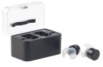 auvisio True Wireless In-Ear-Headset mit Powerbank-Etui, Bluetooth, Multipoint