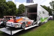 Spektakuläre Ausstellungsstücke beim Porsche-Treffen in Bad Füssing: Porsche-Rennfahrzeuge begeistern jedes Jahr das Publikum.