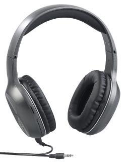 auvisio Over-Ear-Headset OHS-160.fm, Bluetooth, MP3, FM & Auto Connect, microSD bis 64 GB / Bild: PEARL.GmbH / www.pearl.de