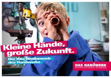 kleine Hände große Zukunft, Bildquelle: Marketing Handwerk GmbH