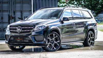 Barracuda meets HS Motorsport - Project X on the lowered Mercedes GLS